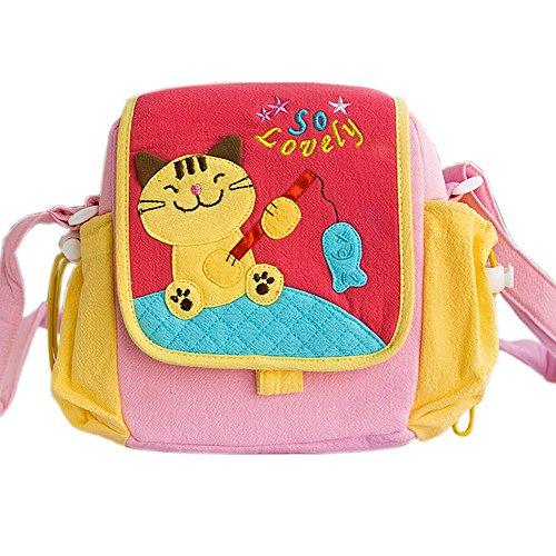 [Kitty Loves Poisson] Kitty Sac à bandoulière (7,3 * 7 * 2,4)