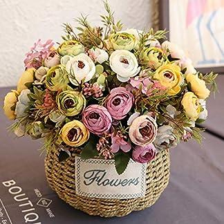 XdiseD9Xsmao 1 Unid Casi Natural Realista Flor Artificial Camelia Home Garden Wedding Party Furniture DIY Decoración El Mejor Adorno De Navidad