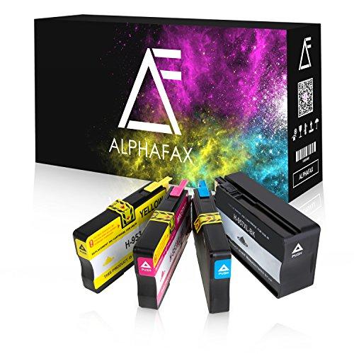 Preisvergleich Produktbild 4 Alphafax Tintenpatronen kompatibel zu HP 957XL 953XL für HP Officejet Pro 8210 8216 8218 8720 8725 8730 8740