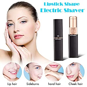 Luckyfine Mini Lipstick Electric Shaver For Woman Whole Body Electric Shaver For Underarms Private Parts Leg Hair Facial Hair Lip Hair
