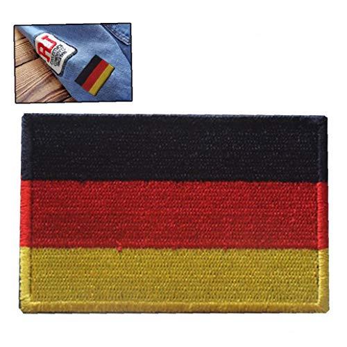 Zonfer Bandera Alemania Parches Bordados Pin Brazalete
