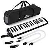 Best Melodicas - Eastar Mélodica 37 Touches, 2 Embouchures, Housse inclus Review