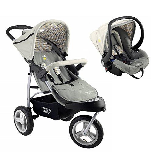 Formula Baby Pack 3 roues - poussette et siège auto Arlequin
