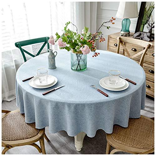 Tablecloth Tischdecke, Baumwolle, Leinen, rund, für TV, Kabinett, Decke, Klavier, Tischdecke, Hotel, Tischdecke, Tischdecke, 200 cm