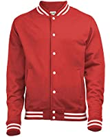 AWDIS Varsity College Jacket - 5 Colours / Size XS-2XL