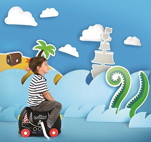 51htvD3EE9L - TRUNKI PEDRO PIRATA - TRK0312 Maleta de viaje para niños aventureros