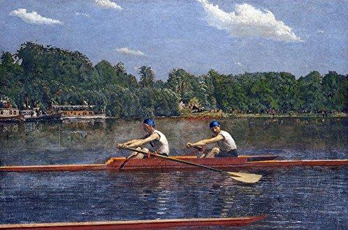 Das Museum Outlet-Thomas Eakins-Die Biglin Brothers Racing-A3Größe Poster Print Online