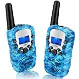 Walkie Talkies for kids, Best Gifts Walkie Talkie Children with LCD and Flashlight