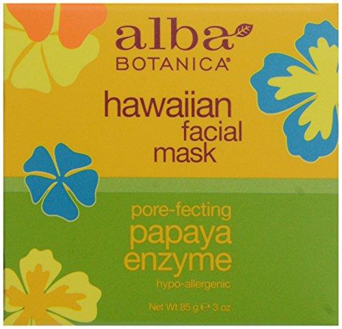 masque-visage-papaye-et-ananas-hawaiian-100-naturel-alba-botanica-85-g