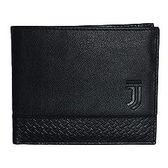 Idea Regalo - Enzo Castellano FC Juventus Portafoglio Pelle Linea 1 Ufficiale - Colore - Nero, Misure - Uni