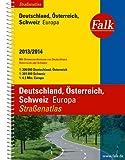 Falk Straßenatlas Deutschland, Österreich, Schweiz, Europa 2013/2014