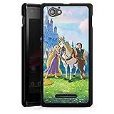 Sony Xperia M Hülle Case Handyhülle Disney Rapunzel ? Neu verföhnt Merchandise Geschenke