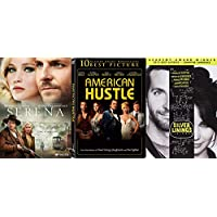 Bradley Cooper and Jennifer Lawrence Triple Feature - Silver Linings Playbook, Serena & American Hustle 3-DVD Bundle