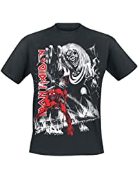 Iron Maiden Number Of The Beast Camiseta Negro