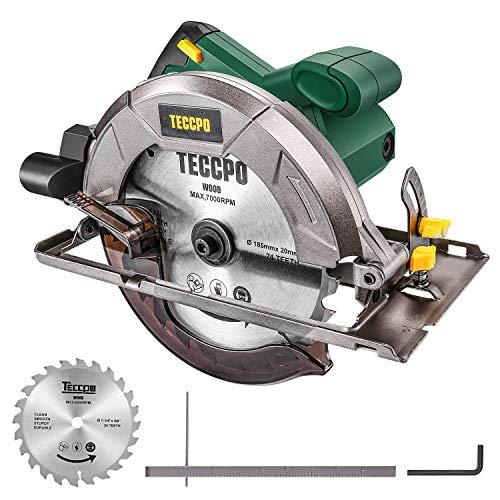 Discos de TCT para sierra circular 20 24 Silverline 801292 40 dientes 184 x 30 - anillos de 20 y 16 mm 3 pzas