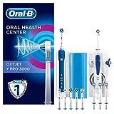 Oral-B PRO 3000 Combiné dentaire + OxyJet : Brosse à dents rechargeable et hydropulseur
