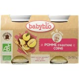 Babybio Pots Pomme d'Aquitaine Coing 260 g -