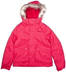 O 'Neill Girl's Snow Jacket Gemstone Red society red Size:17 years