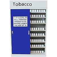 Retail Zigarette Tabak Point of Sale Vitrine, POS, Zigarette Regal Gantry mit Schiebetüren