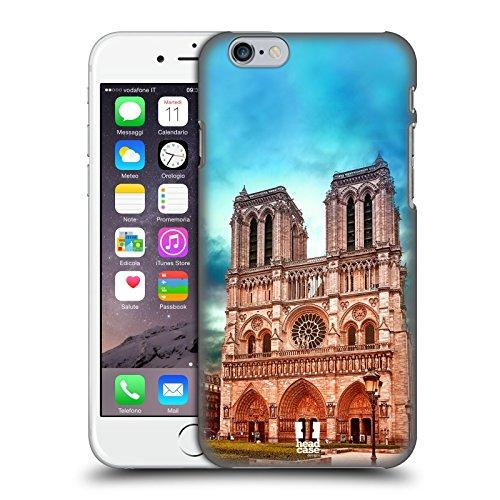 Head Case Designs Cattedrale Di Notre Dame Il Meglio Di Ogni Luogo Set 3 Cover Retro Rigida per Apple iPhone 7 / 8 Cattedrale Di Notre Dame