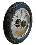 Kinderwagen Rad 12 1/2 Zoll, 62 - 203 mit Metallspeichen, kugelgelagert