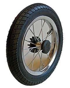 Kinderwagen Rad 12 1/2 Zoll, 62-203 mit Metallspeichen, kugelgelagert