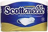 Scottonelle Carta Igienica, Soffice e Trapuntata - 12 Rotoli