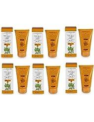 L'Erbolario–Crème solaire à la carotte au sésame & au Karite 'SPF 30125ml–6boîtes haute protection pour...