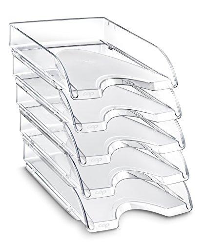CEP CepPro - Lote de 10 bandejas compactas, color cristal