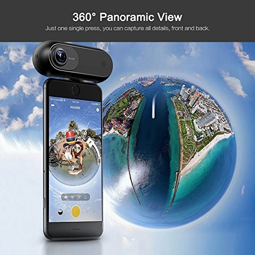 Zoom IMG-3 insta360 one action camera 360