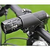 2PCS LED Fahrradbeleuchtung, Fahrradlampe Fahrradlicht Set inkl. Frontlichter und Rücklicht, Halteru
