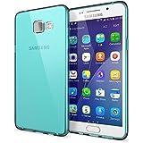 Samsung Galaxy A5 2016 Coque Protection de NICA, Housse Silicone Portable Mince Souple TPU Tele-phone Case Cover Premium Incassable Ultra-Fine Resistante Gel Slim Bumper Etui - Transparent Turquoise