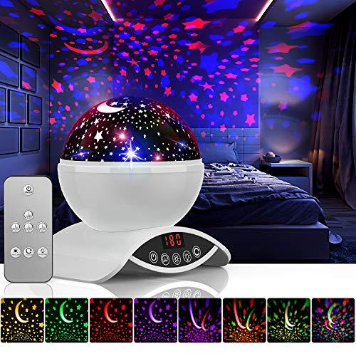 Amouhom Sternenhimmel Projektor Lampe mit Fernbedienung, LED