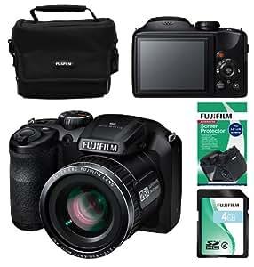 Fujifilm FinePix S4600 16MP Digital Bridge Camera - Fuji Super Bundle