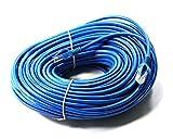link-e ®: Kabel Netzwerkkabel blau Ethernet RJ45100m CAT. 6Qualität Pro, Internetverbindung Box, TV, PC...