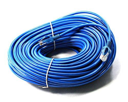 link-e ®: Kabel Netzwerkkabel blau Ethernet RJ45100m CAT. 6Qualität Pro, Internetverbindung Box, TV, PC... (Meter 6-ethernet-kabel 100 Cat)