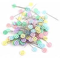 Ylly env. 100DIY Bouton Style positionnement manuel de broches pour couture patchwork (couleur aléatoire)