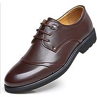 WZG Autunno scarpe da sera di business dei nuovi uomini di 48 iarde I grandi pattini casuali degli uomini degli uomini dimensione di fabbricazione scarpe , brown strips , 39