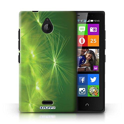 Kobalt® Imprimé Etui / Coque pour Nokia X2 Dual Sim / Orange conception / Série Allumez la vie Vert