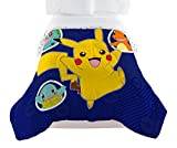 Pokémon Twin Comforter, Blue, Yellow