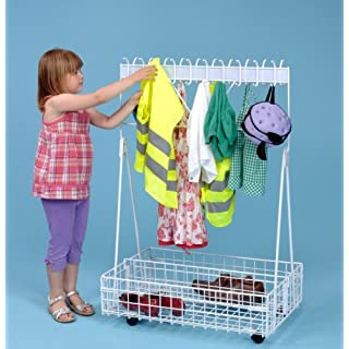 Mobile Cloakroom/ Childrens Dressing Up Trolley-A1170