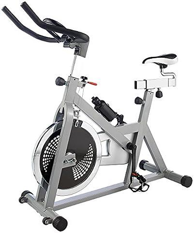 PEARL sports Ergometer: Indoor Cycle, 18 kg Schwungmasse (Indoor