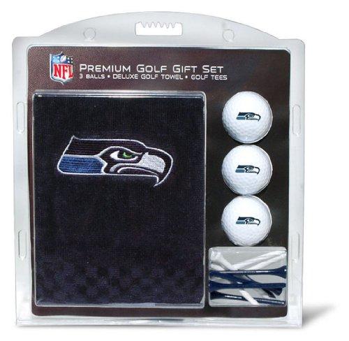 Team Golf NFL Besticktes Handtuch Geschenk-Set, 32820, Seattle Seahawks, Einheitsgröße