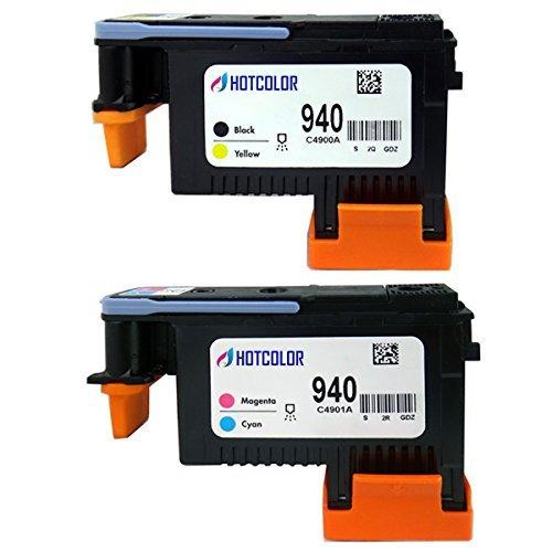 HP 940 Printhead C4900A B//Y C4901A C//M for HP OfficeJet Pro 8500 8000 Printer US