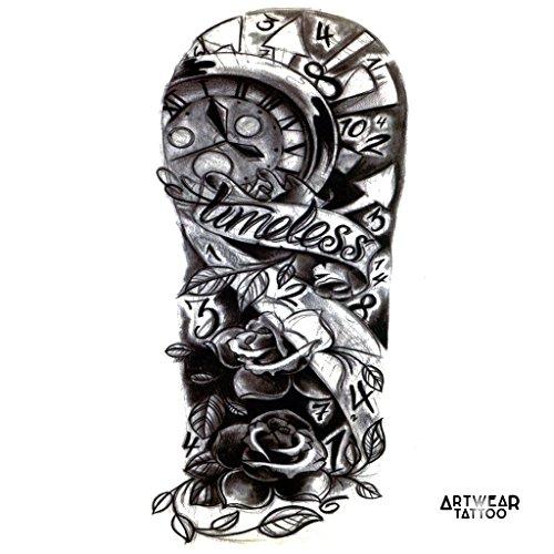 temporre-ttowierung-temporary-tattoo-timeless-arm-artwear-tattoo-b0327-m