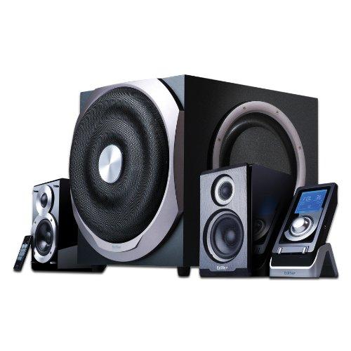 EDIFIER S730D 2.1 Lautsprechersystem/ pc-lautsprecher (300W) mit Infrarot-Fernbedienung und kabelgebundenem Controller
