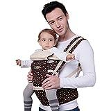 Chilsuessy 3 in 1 Babytrage Baby Tragetasche R¨¹ckentrage Bauchtrage Baby Carrier babycarrier unisex Jungen M?dchen, Braun