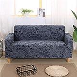 MIAO Anti-Rutsch-elastische Sofa Cover amerikanischen einfachen Polyester Material staubdicht Anti-Smashing Sofa Dekoration (Farbe : B, größe : 4 Seater)