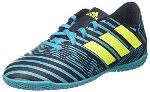 Adidas Jungen Nemeziz 17.4 in Fußballschuhe, Mehrfarbig (Legend Ink F17/Solar Yellow/Energy Blue S17), 36 EU