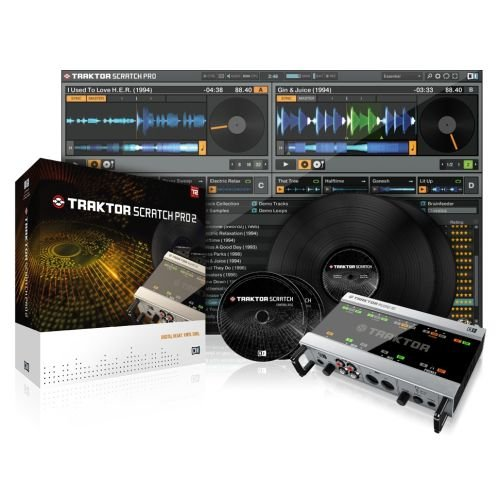 Native Instruments TRAKTOR SCRATCH PRO 2, EDU / Studentenversion, Win/Mac, Deutsch